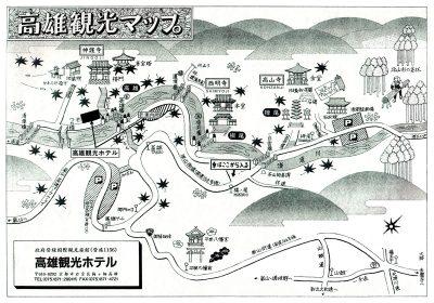 高雄観光マップ